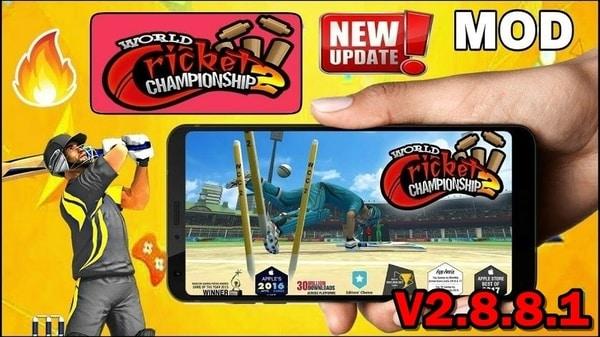 World Cricket Championship 2 APK MOD HACK (Monedas Ilimitadas) 2